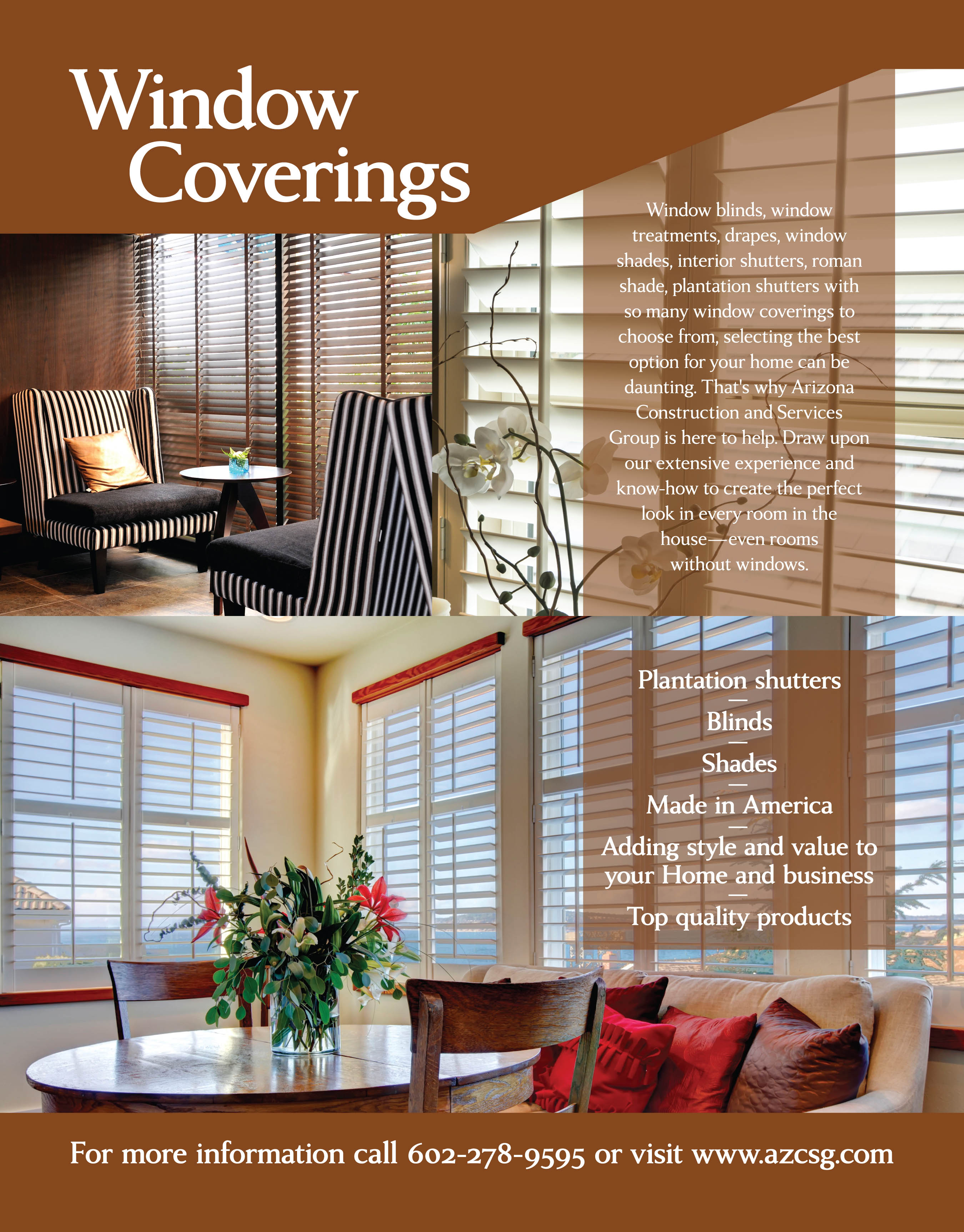 Window Coverings Residential Amp Commercial Phoenix Az
