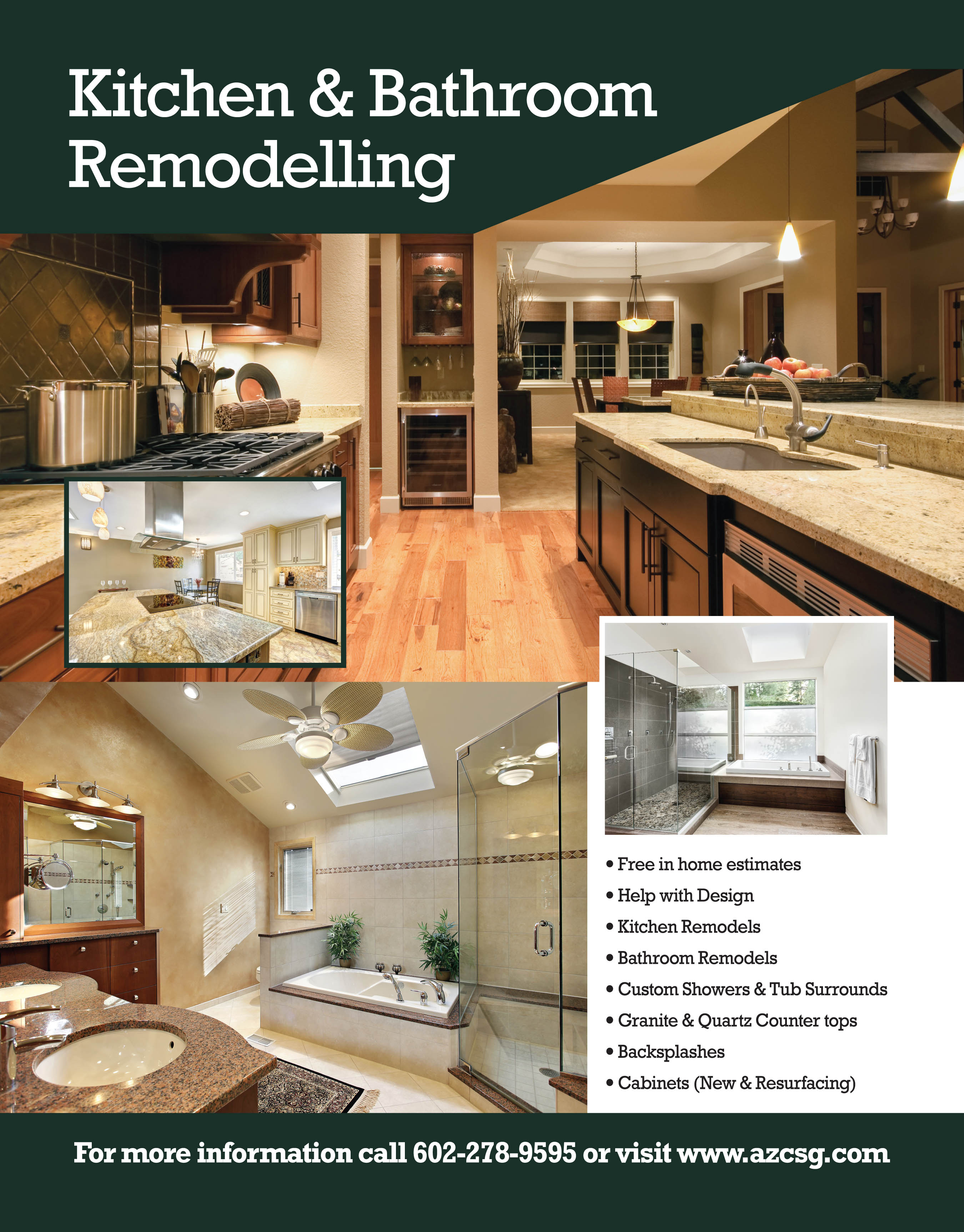 BATHROOM REMODELING PHOENIX AZ - Gilbert bathroom remodeling